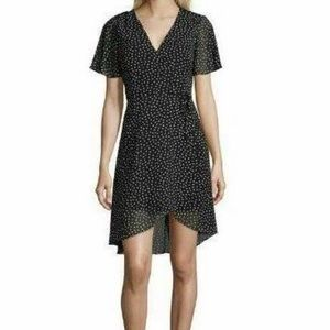 My Michelle black polka dot dress